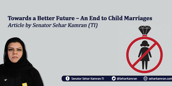 Towards a Better Future – An End to Child Marriages