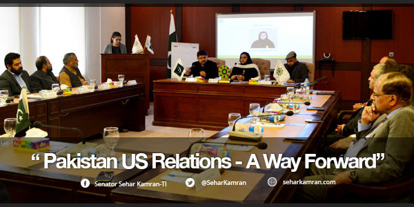 Need to Develop a Singular Coherent Path for the Country's Future Relations with the Trump Administration: Senator Sehar Kamran (TI)