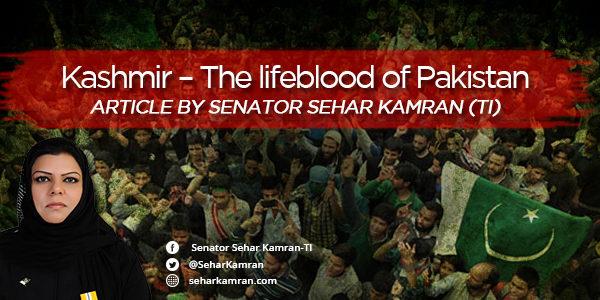 Kashmir – The lifeblood of Pakistan