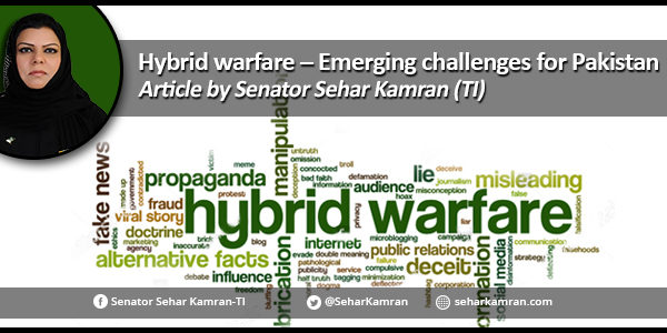 Hybrid warfare – Emerging challenges for Pakistan